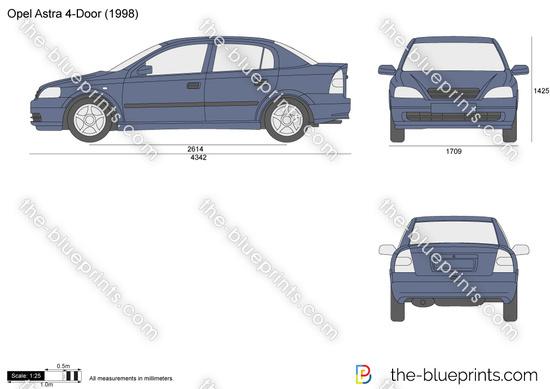 Opel Astra J 4-Door