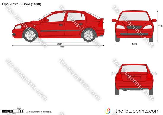 Opel Astra J 5-Door