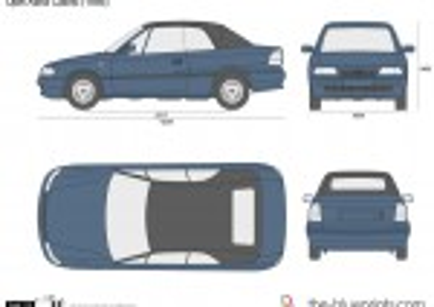 Opel Astra F Cabrio (1995)