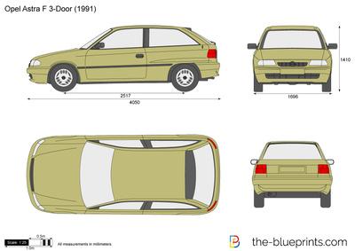 Opel Astra F 3-Door