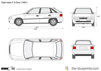 Opel Astra F 5-Door (1991)