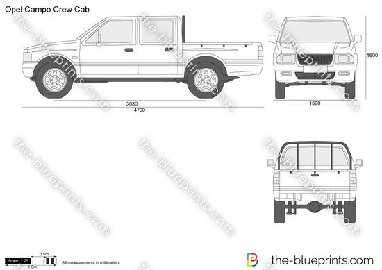Opel Campo Crew Cab