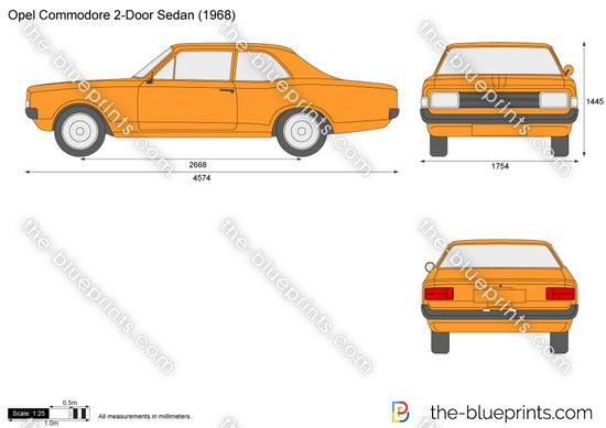 Opel Commodore 2-Door Sedan