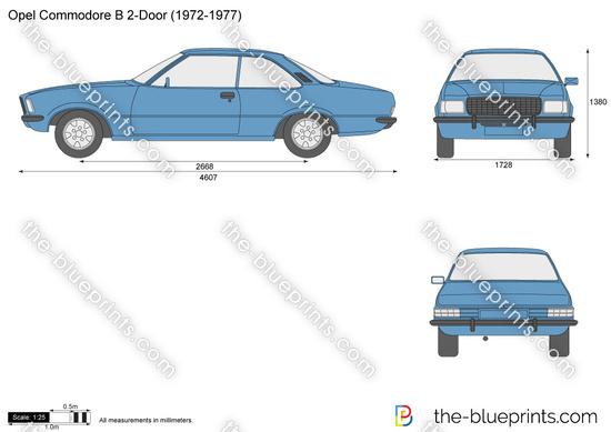 Opel Commodore B 2-Door