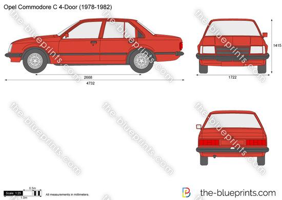 Opel Commodore C 4-Door