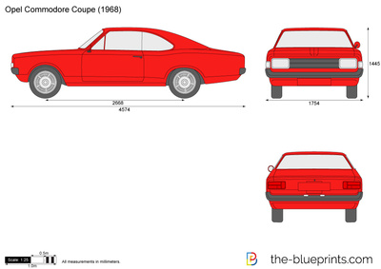 Opel Commodore Coupe