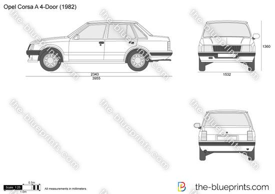 Opel Corsa A 4-Door