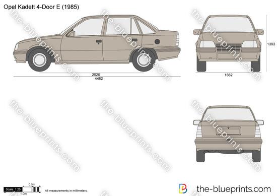 Opel Kadett 4-Door E