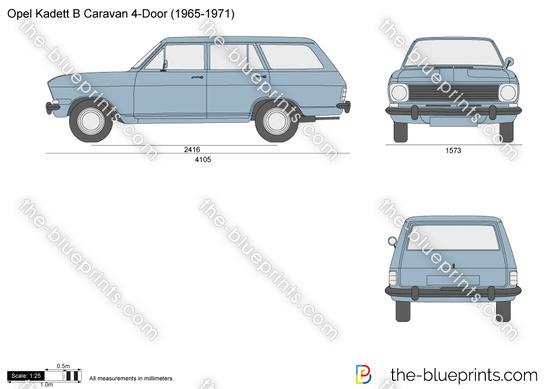 Opel Kadett B Caravan 4-Door