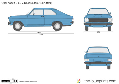 Opel Kadett B LS 2-Door Sedan