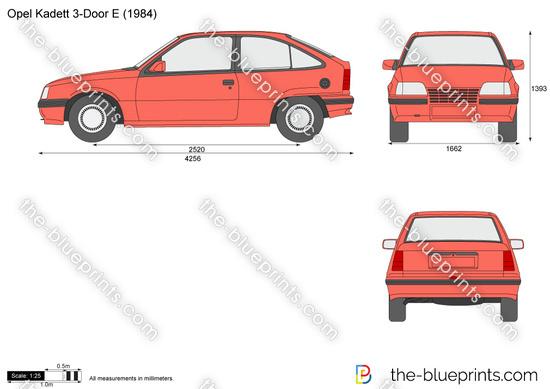 Opel Kadett E 3-Door