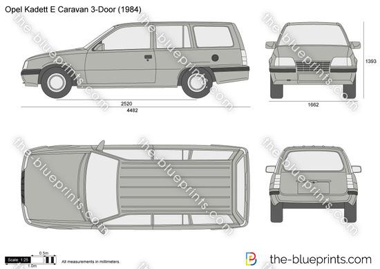 Opel Kadett E Caravan 3-Door