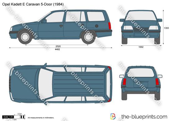 Opel Kadett E Caravan 5-Door