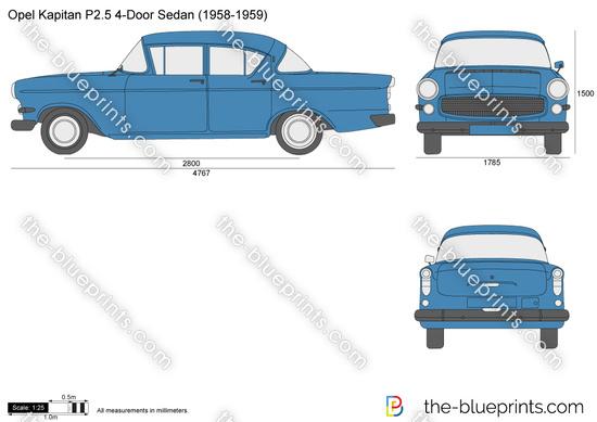 Opel Kapitan P2.5 4-Door Sedan
