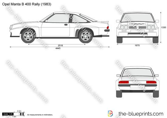 Opel Manta B 400 Rally