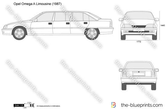 Opel Omega A Limousine