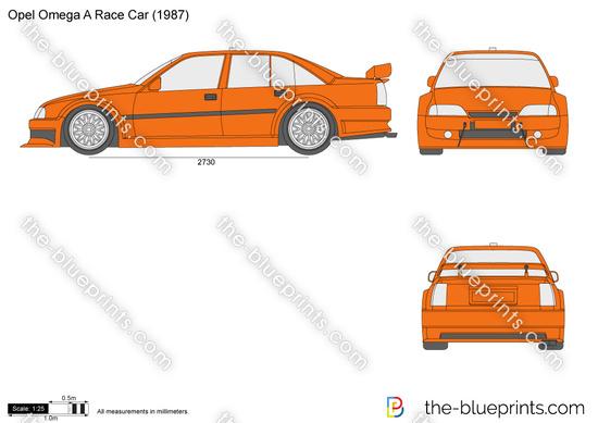 Opel Omega A Race Car