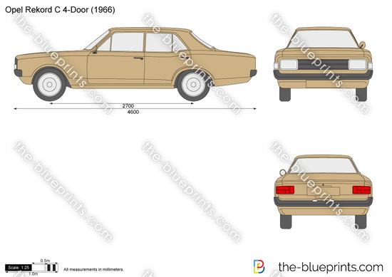 Opel Rekord C 4-Door