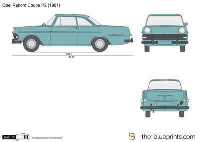 Opel Rekord Coupe P2