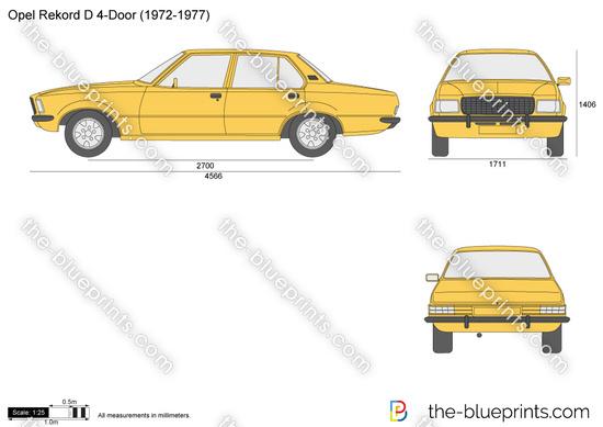 Opel Rekord D 4-Door