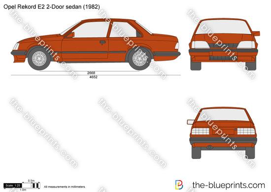 Opel Rekord E2 2-Door sedan
