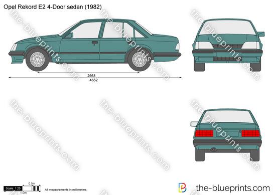 Opel Rekord E2 4-Door sedan