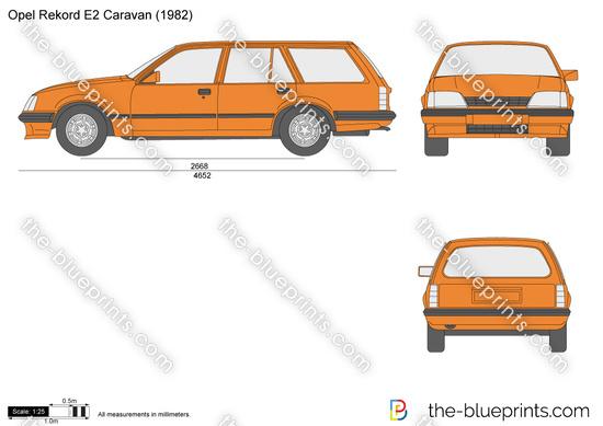 Opel Rekord E2 Caravan