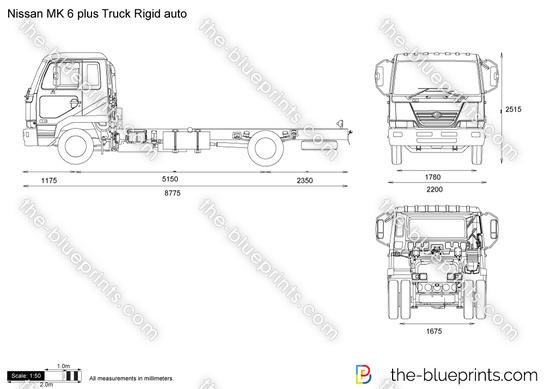 Nissan MK 6 plus Truck Rigid auto
