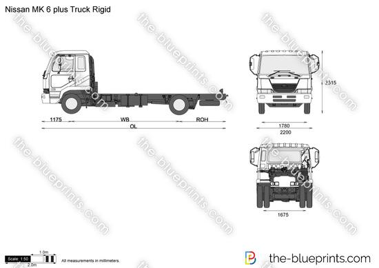 Nissan MK 6 plus Truck Rigid