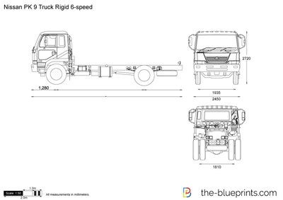 Nissan PK 9 Truck Rigid 6-speed