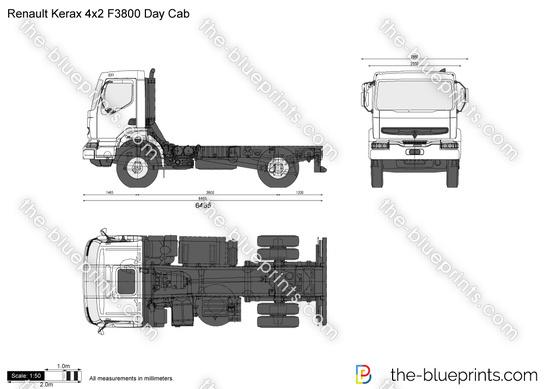 Renault Kerax 4x2 F3800 Day Cab