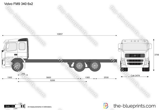 Volvo FM9 340 6x2