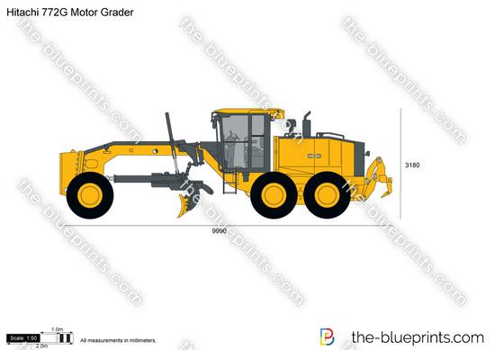 Hitachi 772G Motor Grader