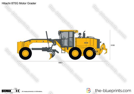 Hitachi 870G Motor Grader