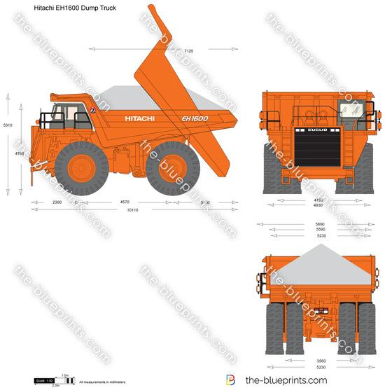 Hitachi EH1600 Dump Truck