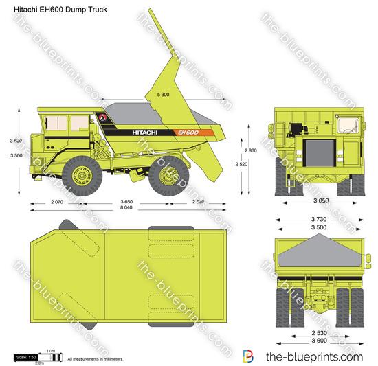 Hitachi EH600 Dump Truck