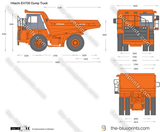 Hitachi EH700 Dump Truck