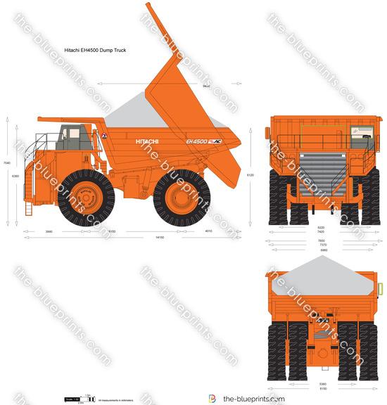 Hitachi EH4500 Dump Truck