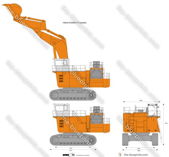 Hitachi EX2500-5 Excavator