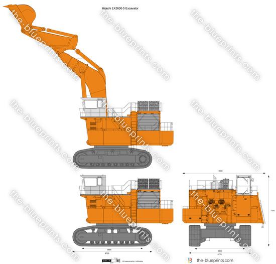 Hitachi EX3600-5 Excavator