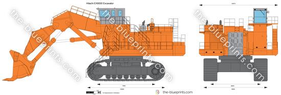 Hitachi EX8000 Excavator