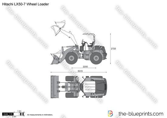 Hitachi LX50-7 Wheel Loader