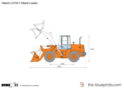 Hitachi LX110-7 Wheel Loader