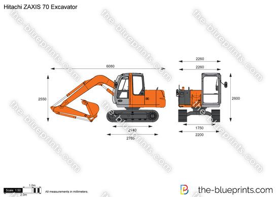 Hitachi ZAXIS 70 Excavator