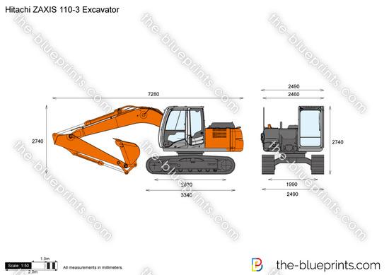 Hitachi ZAXIS 110-3 Excavator