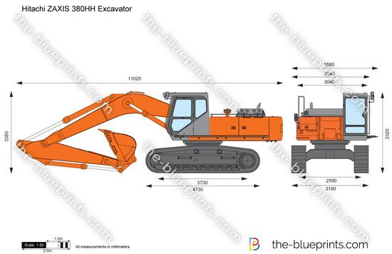 Hitachi ZAXIS 380HH Excavator