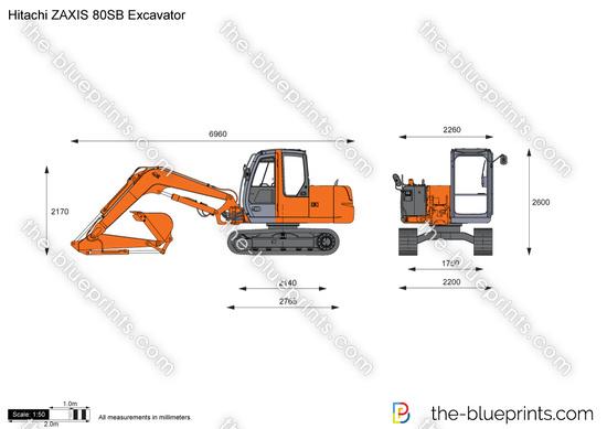 Hitachi ZAXIS 80SB Excavator