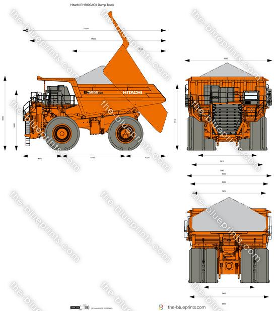 Hitachi EH5000ACII Dump Truck