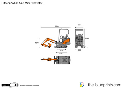 Hitachi ZAXIS 14-3 Mini Excavator