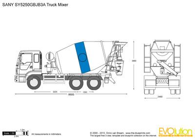SANY SY5250GBJB3A Truck Mixer
